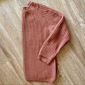 Mauve Dusty Pink Sweater